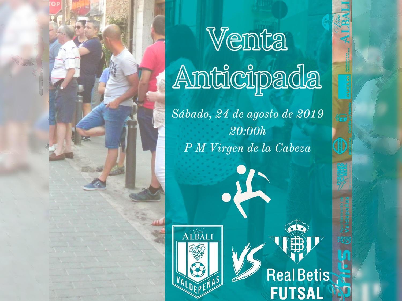 Venta anticipada de entradas para la pretemporada del Viña Albali Valdepeñas