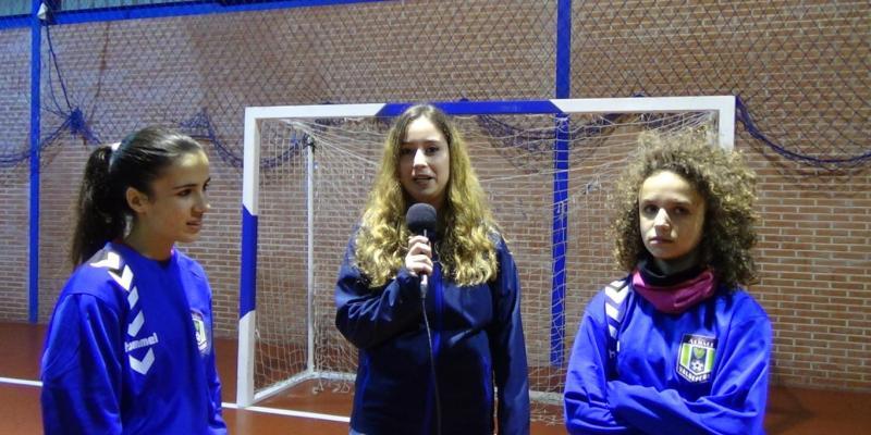 FSVlive | Hablamos con... Adela y Blanca, jugadoras del Viña Albali Valdepeñas Femenino